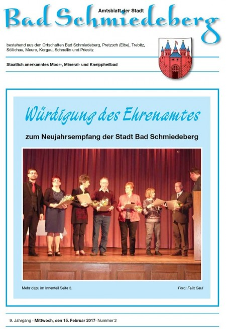 Amtsblatt Ausgabe 2-2017 Bad Schmiedederg